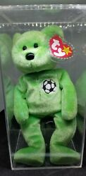 Kicks Beanie Baby Retired In Original Condition. With Errors - Collector Owned