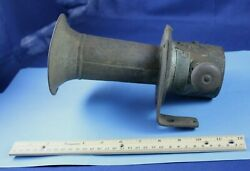Vintage Car Horn Handphone Patented Ahooga Part Accessory Bracket Collectible
