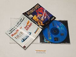 Robo Pit + Registration Card - Complete Playstation 1 Ps1 Game