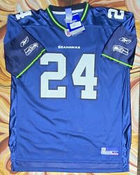 Nwt Vintage Shawn Springs Jersey Seattle Seahawks Xl Reebok New W/ Tags Home 24