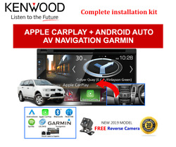 Kenwood Dnx5180s For Mitsubishi Challenger 2009-2013 Pb Stereo Upgrade