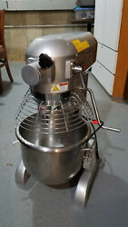 Canco Hlm-20b Commercial Stand Mixer With Attachments 20 Qt 110v-single Phase