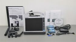 New Arcos Burn Navigator Panasonic Toughbook Cf-h2 System Ref 1125 W/ Case And Acc