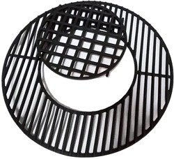 Bbq Sear Grate 12 Enamel Cast Iron Round Grid For 22.5 Weber Charcoal Gril
