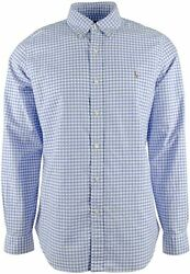 Polo Menand039s Big And Tall Menand039s Classic Fit Button Down Shirt Long Sl