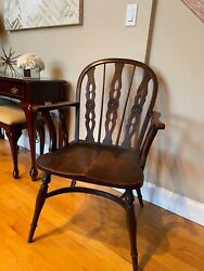 Antique Windsor Arm Chair By Robert Prior Circa 1820