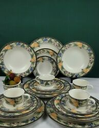 Mikasa Intaglio Garden Harvest Cac29 - 5 Piece Place Setting - Service For 4