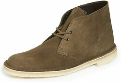 Clarks Menand039s Desert Chukka Boot Casual Comfort Walking Suede Shoes