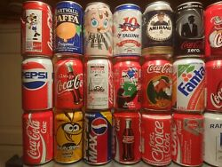 Beer And Soda Cans 63 Cans Box 3