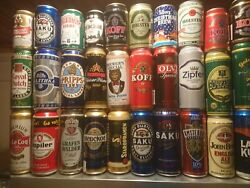 Beer And Soda Cans 66 Cans Box 4