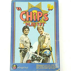 Chips Colorforms Adventure Play Set 1981 Tv Show Vintage Toy 80's 90's