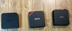 Lot Of 3 Android Boxes - M8 , M9s And Mxq Models