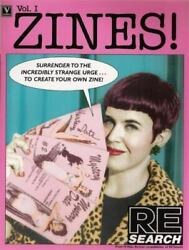 Zines Vol 1 Book - Collection Documentation Early Zines Interviews With Creators