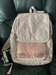 Rose Gold Pink Unicorn Full Size Backpack Teen Girls with Organization Bag $20.00