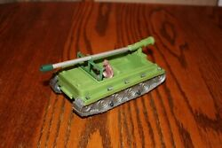 Vintage Andy Gard Weasel Tank, Recoilless Cannon, And Driver - Mpc, Marx