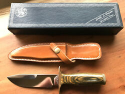 Vintage Smith And Wesson Fixed Blade Knife Usa Model 6030 Survival Knife Nos