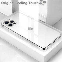 Ultra Thin Slim Plating Luxury Case For Iphone 12 Pro Max 5g 11 Pro Max Xr Cover
