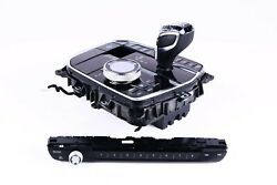 Bmw G15 G16 Gear Lever Selector I-drive Controller Radio Panel Glass Crystal Lhd