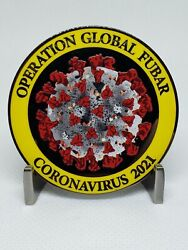 2021 Operation Global Fubar Challenge Coin Essential Police Enduring Clusterfuck