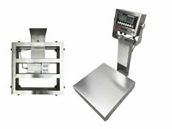 """Ntep 18""""x24"""" Legal Trade Stainless Steel Washdown Bench Scale 500 Lb X 0.1 Lb"""