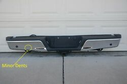Complete 15-2020 Ford F150 Rear Bumper Receiver Style Tow Hitch Chrome Step Pad