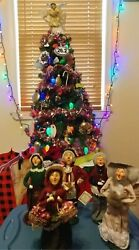Yankee Candle Carolers Edition Figurines Byers' Choice Ltd