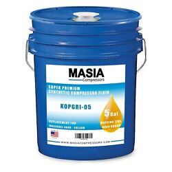 Ingersoll Rand Ultra Coolant Oil, 5 Gallon Pail, 8000 Hours 38459582, 39433735