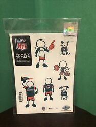 Miami Dolphins Family Decals, New, Fan, Football