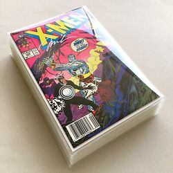 Nm/nm+ Signed, Complete 16-iss Sp Jim Lee Run Uncanny X-men 1989. All Newsstand