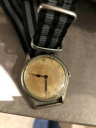 Vintage Omega Military Raf Royal Navy Issue Watch 30t2