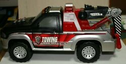 Tonka Towing Rescue Force Wrecker Tow Truck