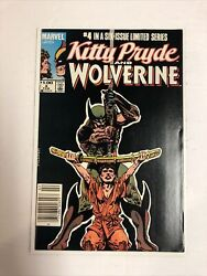 Kitty Pryde And Wolverine 1984 4 Nm | Canadian Price Variant Cpv |