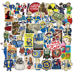 Fallout Stickers 50 Stickers Decal Lot Sticker Set