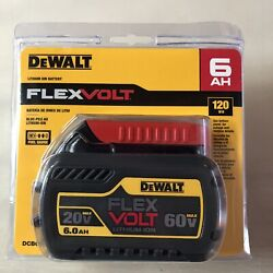 Dewalt Dcb606 60 Volt Flex Volt 6 Amp Battery New In Package