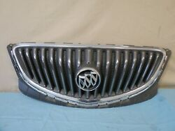 ✅ 12 13 14 15 16 17 Buick Verano Front Upper Grille Grill W Emblem Chrome Oem Gm