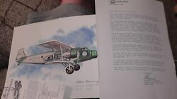 United Airlines Collector Nixon Galloway Print Litho Boeing Model 80 1929-1930