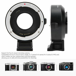 Ef‑fx1 Auto-focusing Lens Adapter For Canon Ef/ef‑s Lens To For Fuji X Camera