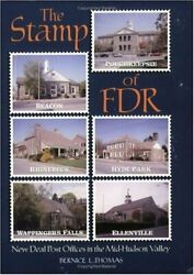 Stamp Of Fdr New Deal Post Offices In Ther Mid-hudson By Bernice L. Thomas Vg