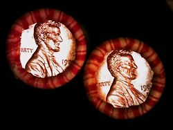 1987 P And D Bu Lincoln Memorial Cents Original Sealed Rolls 1-order Gets Both