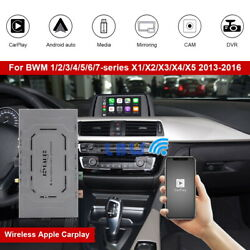 Wireless Apple Carplay Android Auto Gps Navi Video For Bmw Nbt System 2013-2016