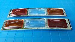 Mercedes Benz W186 300 Taillight Tail Light Lamp Bezel And Lens Typ 300c