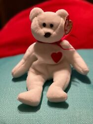 Ultra Rare Brown Nose Andp.v.c Pellets Beanie Baby - Valentino 93/94 Near Mint