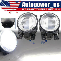 For Infiniti Q50 Qx60 Qx80 Front Left And Right Side Bumper Fog Light Lamp 1pair
