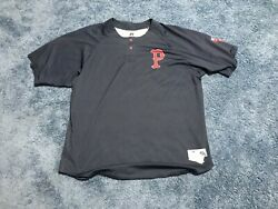 Kyle Kendrick Game Used Pawtucket Red Sox Blue Bp Jersey