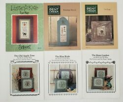 YOU CHOOSE Bent Creek Eventide Design or Lizzie Kate Cross Stitch Charts NEW $4.07