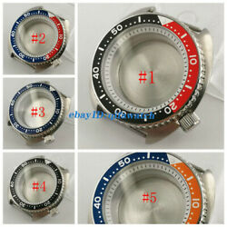 Bliger 45mm Steel Case Sapphire Glass White Chapter Ring Fit Nh35 Nh36 Movement