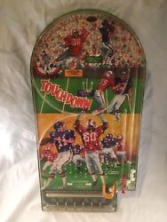 Football Touchdown Old Vintage Tabletop Pinball Game Made By Wolverine 1960s