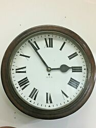 1940's G.p.o. Dial Clock 8 Day Fusee Movement