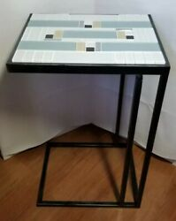 Custom Made Deco Styled Occassional Accent C Table