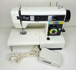 Vintage Brother Model Se300 Electric Sewing Machine Collapsible Platform And Pedal